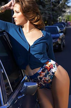 Katie Cassidy Posing